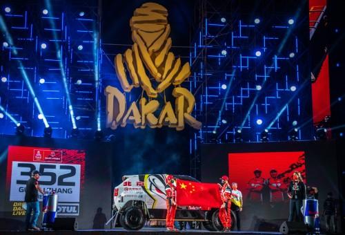 2021达喀尔拉力赛正式开幕 北京越野为中国品牌而战!